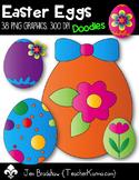 Easter Eggs Clip Art ~ Spring ~ Easter ~ CU OK