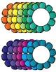 Flower Frames Clip Art ~ Commercial Use OK ~ Borders