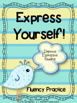 Reading Fluency & Expression ~ Literacy Center ~ Improve C