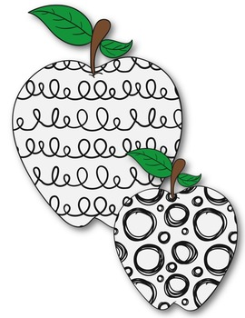 Fun Apples! Clipart ~ Commercial Use OK