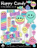 Happy Candy Clip Art ~ Commercial OK ~ Smiley Face