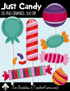Just Candy Clip Art ~ Commercial OK ~ Sweets