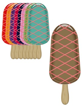 Popsicles Clip Art ~ Commercial Use OK ~ Summer