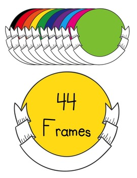 Product & Sellers Frames Clipart ~ Commercial Use OK