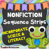 Sequence Strips * NONFICTION * ~ Reading Center ~ RTI