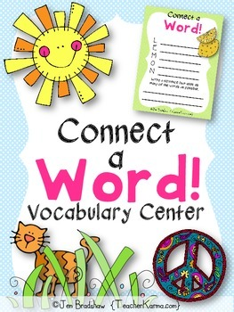 Vocabulary Center to Improve Reading Comprehension * Acros