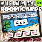 12's Multiplication Facts BOOM Cards | Digital Task Cards