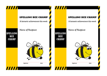 12 spelling bees lists & multi-task activities for phonic phase 5