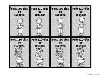 120 Brag Tags in Spanish