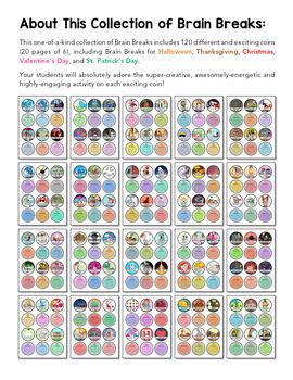 Brainy Breaks: 120 Classroom Activities For Grades K-6
