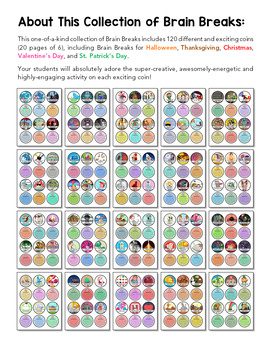 Brainy Breaks: 120 Classroom Activities For Grades K-6