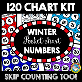 WINTER POCKET CHART CARDS NUMBERS (DECEMBER ACTIVITY FIRST GRADE)