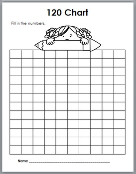 120 Charts - for the Entire Year - Print & Go, No Prep {120 Chart Activities}