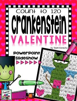 120 Chart - A Crankenstein Valentine
