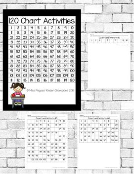 120 Chart Activities for Kindergarten and First