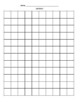 120 Chart, BLANK