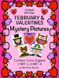 120 Chart February Mystery Pictures 6-Pack