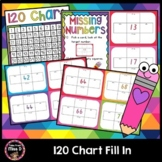 120 Chart Fill In - Before, After, 10 more and 10 less