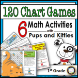 120 Chart Games with Pups and Kitties