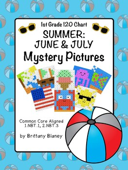 120 Chart June/July Mystery Picture 8-Pack