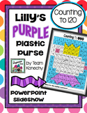 120 Chart - Lilly's Purple Plastic Purse