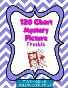 120 Chart Math Mystery Picture: Back to School Number Sense