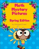 120 Chart Math Mystery Pictures: Spring Edition (Common Co