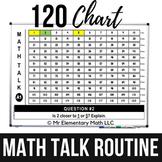 Math Warm Ups | 120 Chart Math Talk Routine | Distance Learning