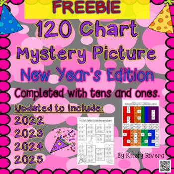 120 Chart Mystery Picture - New Year's Edition