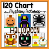 120 Chart Mystery Pictures - Halloween Math Pack