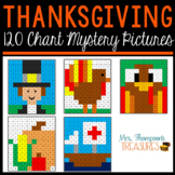 120 Chart Mystery Pictures - Thanksgiving Math Pack