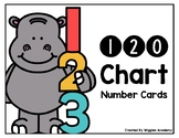 120 Chart Number Cards FREEBIE