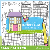 120 Chart Number House Worksheets Booklet