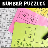120 Chart Number Puzzles