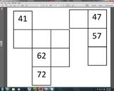 120 Chart Puzzle Pieces Part 2 (1.NBT.1)