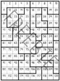 120 Chart Puzzles Freebie