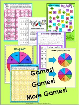 120 Chart Games and Activities