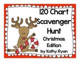 120 Chart Scavenger Hunt--Christmas Edition