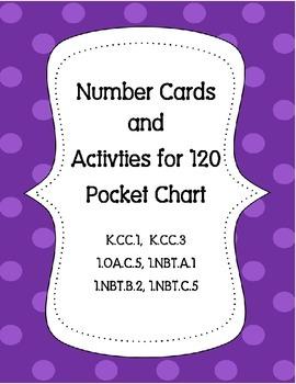 120 Chart Squares & Activities  K.CC.1  K.CC.3  1.OA.C.5 1.NBT.A .1.