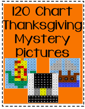 120 Chart Thanksgiving Mystery Picture