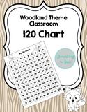 120 Chart Woodland Theme