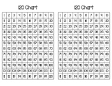 120 Chart - filled, full and half pages