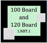 1.NBT.1, 100 Board and 120 Board