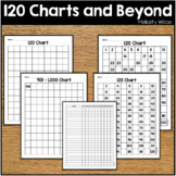 120 Charts and More Numbers from 1-1000 Number Charts