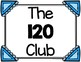 120 Club {Writing and Counting to 120}