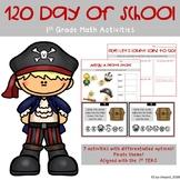 120 Day of School 1st Grade Math Activities