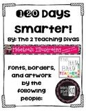 120 Days Smarter! By The 2 Teaching Divas