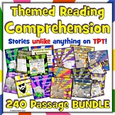 240 Fun Reading Passages BUNDLE: Funny Reading Comprehension