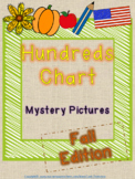 120 Hundreds Chart Mystery Pictures - Fall