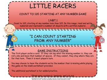 120 Little Racers Game